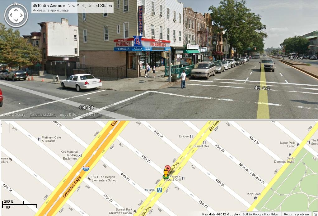 BronxBusMap/45_Street_And_4_Avenue.jpg