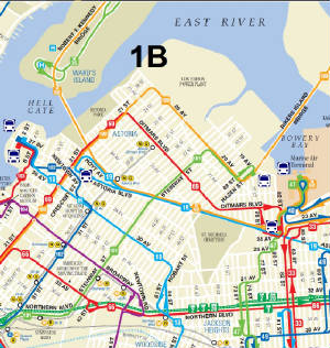 Q Bus Northern Blvd Queens Plaza S - Queens bus map