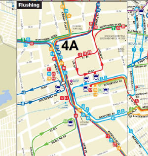Q23 Bus Route - 108th Street Q Bus Map on